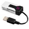 Aluratek Microsd / Minisd USB2.0 Multi-media Card Reader AUCR200 00890989001217