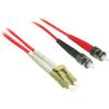 C2G-3m Lc-st 62.5/125 OM1 Duplex Multimode Fiber Optic Cable (plenum-rated) - Red 37537 00757120375371