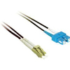 C2G-3m Lc-sc 50/125 OM2 Duplex Multimode Pvc Fiber Optic Cable - Black 37342 00757120373421