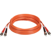 Tripp Lite 5M Duplex Multimode 62.5/125 Fiber Optic Patch Cable St/st 16