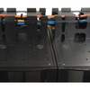 Tripp Lite Rack Enclosure Server Cabinet Roof Mounted Cable Trough SRCABLETRAY 00037332140784
