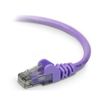 Belkin Cat.6 High Performance Utp Stranded Patch Cable A3L980-06-PUR-S 00722868686102