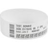 Zebra Wristband Polypropylene 0.75 X 11in Direct Thermal Zebra Z-band Direct HC100 10006997K 09999999999999