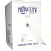 Tripp Lite 1000ft Cat5e Cat5 350MHz Bulk Solid-core Pvc Outdoor Cable Gray 1000