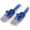 Startech.com - Patch Cable - RJ-45 (m) - RJ-45 (m) - 15.3 M - Utp - ( Cat 5e ) - Blue RJ45PATCH50 00065030773188