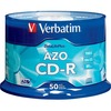 Verbatim Cd-r 700MB 52X Datalifeplus With Branded Surface - 50pk Spindle 94523 00023942945239