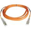 Tripp Lite 30M Duplex Multimode 50/125 Plenum Fiber Optic Patch Cable Lc/lc 100