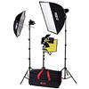 Smith-victor Pro-quartz K70 Tungsten Lighting Kit 401400 00037733008232
