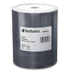 Verbatim Cd-r 700MB 52X Datalifeplus White Thermal Printable, Hub Printable - 100pk Tape Wrap 97018 00023942970187