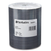 Verbatim Cd-r 700MB 52X Datalifeplus Shiny Silver Silk Screen Printable - 100pk Tape Wrap Spindle 97020 00023942970200