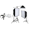 Smith-victor Economy Softbox KSB-1250 Continuous Lighting Kit 408087 00037733008904