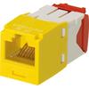 Panduit Mini-com TX-5e Modular Insert CJ5E88TGYL 00074983395392