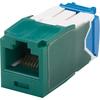 Panduit Mini-com TX-6 Modular Insert CJ6X88TGGR 00074983636211