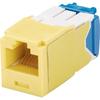 Panduit Mini-com TX-6 Modular Insert CJ6X88TGYL-24 00822088065531