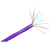 Clearlinks 1000FT Cat. 5E 350MHZ Stranded Purple Pvc Utp Bulk E-207-4P-C5-PUR 00846359000878