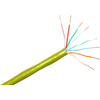 Clearlinks 1000FT Cat. 6 550MHZ Solid Yellow Bulk Cable C6-207-4P-YWS 00846359000908