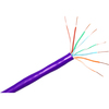 Clearlinks 1000FT Cat. 6 550MHZ Solid Purple Bulk Cable C6-207-4P-PUS 00846359000939