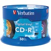 Verbatim Cd-r 80min 52X With Digital Vinyl Surface - 50pk Spindle 94587 00023942945871