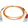 Tripp Lite 5M Duplex Multimode 50/125 Fiber Optic Patch Cable Lc/sc 16