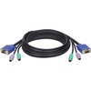 Tripp Lite 6ft PS/2 Cable Kit For B007-008 Kvm Switch 3-in-1 Kit P753-006 00037332119391