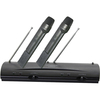 Pylepro Professional Dual Vhf Wireless Handheld Microphone System PDWM2100 00068888901826