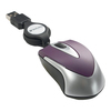 Verbatim Mini Travel Optical Mouse - Purple 97253 00023942972532