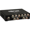 Tripp Lite 4-Port Component Video W/ Stereo Audio Over Cat5/Cat6 Extender Splitter B136-004 00037332155559