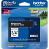 Brother P-touch Tze Flat Surface Laminated Tape TZE345 00012502625865