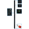 Tripp Lite Pdu 3-Phase Monitored 220/230V 30 C13; 6 C19 IEC-309 16A Red 3