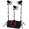 Smith-victor Photoflood K83 Tungsten Lighting Kit 401461 00037733001677