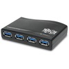Tripp Lite 4-Port Usb 3.0 Superspeed Compact Hub 5Gbps Bus Powered U360-004-R 00037332161154