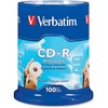 Verbatim Cd-r 700MB 52X With Blank White Surface - 100pk Spindle 94712 00023942947127