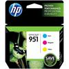 Hp 951 Original Ink Cartridge - Cyan, Magenta, Yellow CR314FN#140 00886111609673