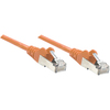 Intellinet Network Solutions Cat6 Utp Network Patch Cable, 7 Ft (2.0 M), Orange 342261