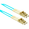 Clearlinks 2 Meters 10GIG Laser Optimized 50/125 Micron Aqua CL-LC2-02-10G 00846359017296