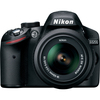 Nikon D3200 24.2 Megapixel Digital Slr Camera With Lens - 27 Mm - 82.50 Mm - Black 25492 00018208254927