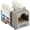 Black Box CAT6 Value Line Keystone Jack, Gray, 5-Pack CAT6J-GY-5PAK 00822088009528