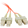 Siig 2M Multimode 62.5/125 Duplex Fiber Patch Cable Sc/sc CB-FE0211-S1 00662774015590