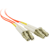 Siig 2m Multimode 50/125 Duplex Fiber Patch Cable Lc/lc CB-FE0B11-S1 00662774015682