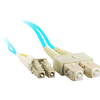 Siig 10M 10Gb Aqua Multimode 50/125 Duplex Fiber Patch Cable Lc/sc CB-FE0S11-S1 00662774015828
