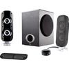 Cyber Acoustics CA-3810 2.1 Speaker System - 38 W Rms CA-3810 00646422002170