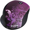 Verbatim Wireless Notebook Optical Mouse, Design Series - Purple 97783 00023942977834