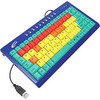 Califone Kids Computer Keyboard Usb Color Coded Keys Via Ergoguys KB1 00010356617005