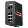 Comtrol Rocketlinx ES8108-GigE Industrial 8-Port Full Gigabit Ethernet Switch 32085-2 00756727320852