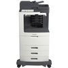 Lexmark MX812DTME Laser Multifunction Printer - Monochrome - Plain Paper Print - Desktop 24T7438 00734646355827