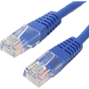 4XEM 25FT Cat6 Molded RJ45 Utp Ethernet Patch Cable (blue) 4XC6PATCH25BL 00873791003945