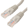 4XEM 25FT Cat6 Molded RJ45 Utp Ethernet Patch Cable (gray) 4XC6PATCH25GR 00873791004041