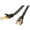 Rosewill RCW-25-CAT7-BK 25 Ft Cat 7 Black Shielded Network Cable RCW-25-CAT7-BK 00898745042856