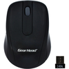 Gear Head 2.4 Ghz Wireless Optical Nano Mouse MP2120BLK 00878260005826