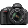 Nikon D5200 24.1 Megapixel Digital Slr Camera With Lens - 18 Mm - 55 Mm - Black 1503 00018208015030